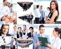职场商务团队人士摄影高清图片