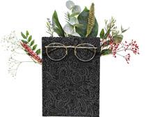 笔记本装扮花朵PSD素材