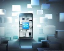 商務數碼手機宣傳展示PSD素材
