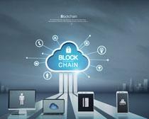 通信數碼科技宣傳廣告PSD素材