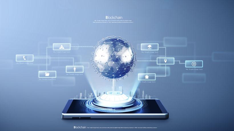 手機通信科技宣傳PSD素材