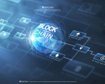 商務圖標背景科技PSD素材