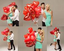 甜蜜國外情侶寫真攝影高清圖片