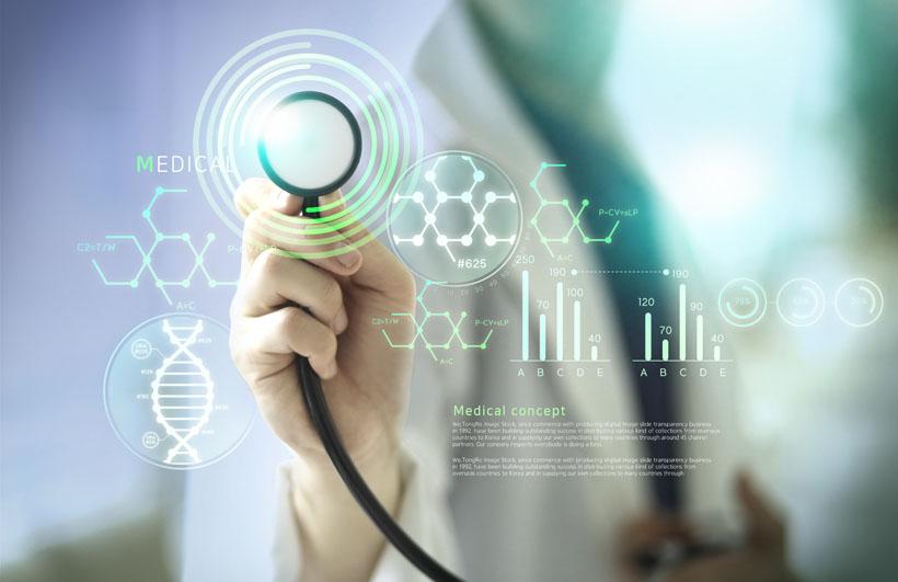 现代医学科技广告PSD素材