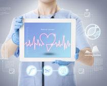 医疗现代化科技广告PSD素材