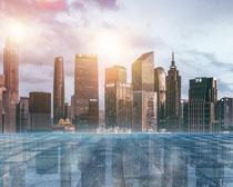 大城市建筑景觀PSD素材