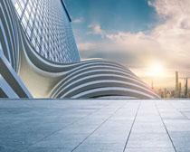 城市標志物建筑景觀PSD素材