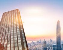 城市建筑發展PSD素材