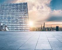 城市建筑景觀設計PSD素材