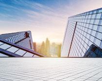 城市大廈建筑景觀PSD素材