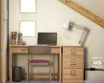 室內寫字臺裝修風格設計PSD素材