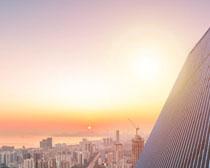 城市辦公高樓大廈建筑PSD素材