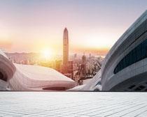 城市環境建筑設計PSD素材