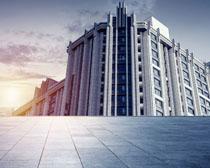城市高樓建筑設計PSD素材