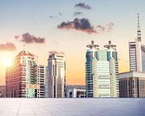 城市大廈風光地產PSD素材