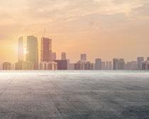 城市發展建筑風景PSD素材