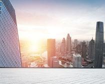 商業大廈建筑景觀PSD素材