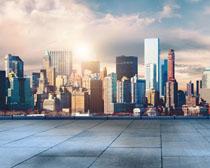 大城市地產建筑風景PSD素材