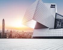 城市發展高樓建筑物PSD素材