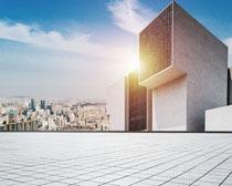 標志地產城市建筑PSD素材