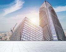 城市高樓大廈風景PSD素材