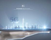 手托城市5G时代PSD素材