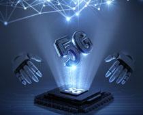 商务5G通信时代科技PSD素材