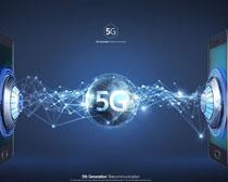 手机通信5G时代创新PSD素材