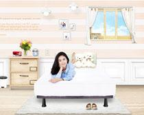 卧室家庭装修风格设计PSD素材