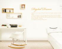 简约卧室家庭装修设计PSD素材