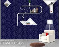 欧式家庭装修风格PSD素材