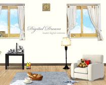 韩式家庭装修风格设计PSD素材