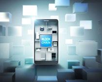 手机技术发展宣传PSD素材