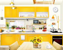 厨房装修环境设计PSD素材