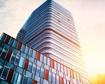 城市新天地建筑景观PSD素材