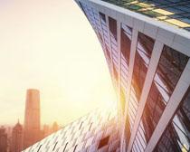 城市商业办公高楼建筑PSD素材