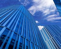 商业城市大厦建筑设计PSD素材
