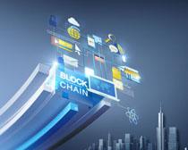 城市商务通信科技PSD素材