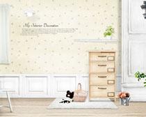 简约室内家庭装修风格PSD素材