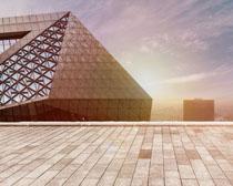建筑标志物城市发展PSD素材