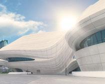 城市大型建筑物设计PSD素材