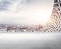 城市环境大型建筑物PSD素材