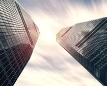 商业办公建筑大厦风光PSD素材