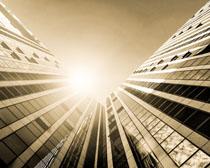 高楼办公建筑摄影PSD素材