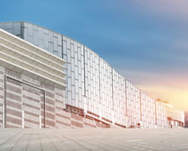 城市综合办公大楼建筑PSD素材