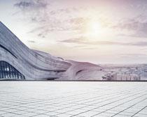 城市标志环境建筑物PSD素材