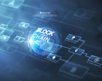 商务科技电子化背景PSD素材