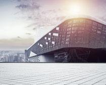 城市形像地标建筑物PSD素材