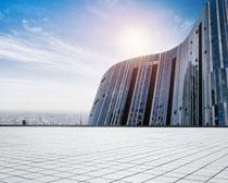 商务城市建筑物PSD素材