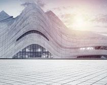 都市地标建筑设计PSD素材